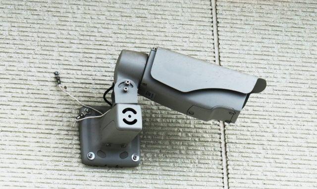 防犯カメラ設置工事 屋外